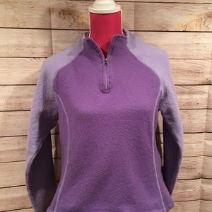 Kuhl Wool Quarter Zip Pullover (L)